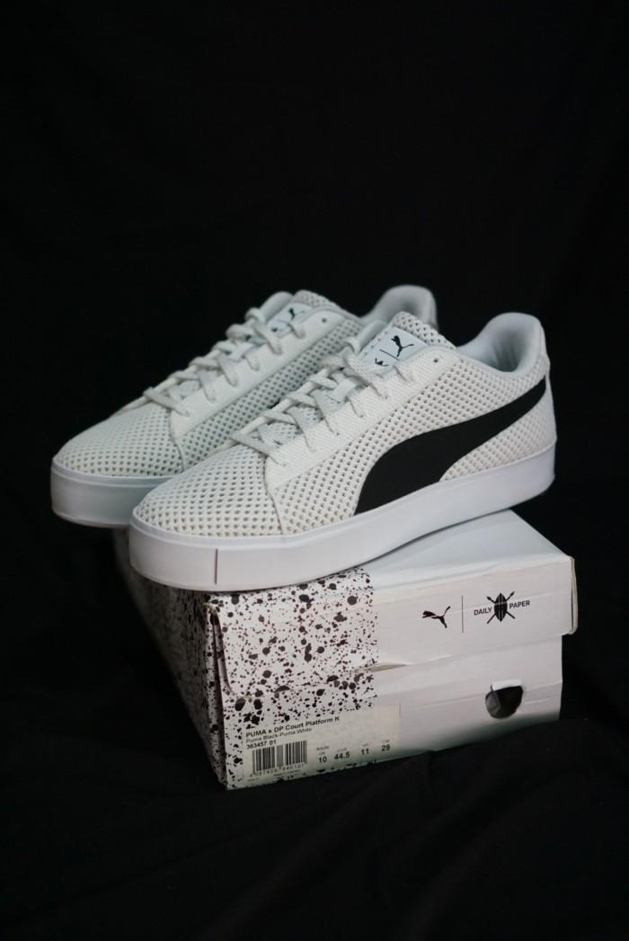Jual Sepatu PUMA X DP COURT PLATFORM K Original - BNIB.STORE  3fea528e8
