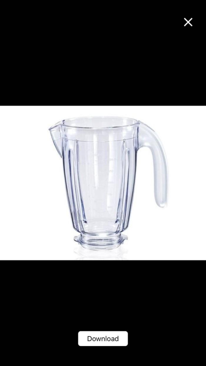 Jual Philips Blender Jar Plastic Spare Part Hr 2957 2115 Plastik 2116