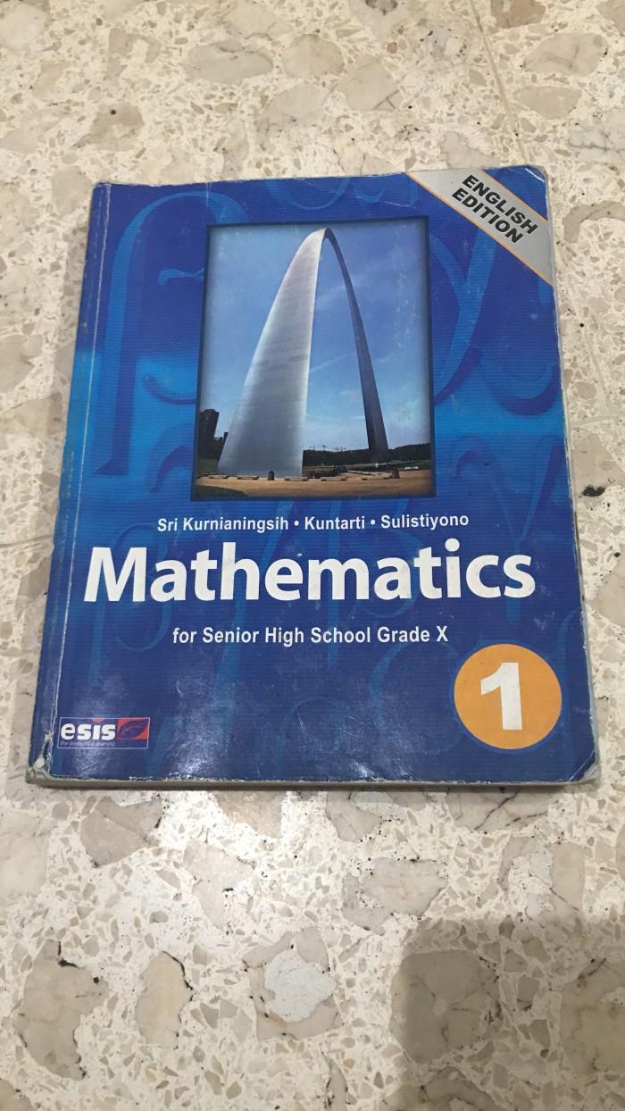 Foto Produk Buku Matematika SMA kelas 1 Bekas Kurikulum KTSP Bahasa Inggris dari Pande 3D