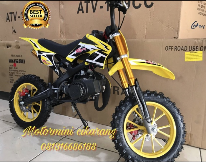 harga Motor mini trail mt2 50cc mesin 2tak Tokopedia.com