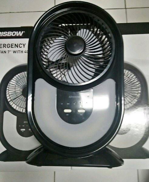 harga Emergency box fan krisbow 40 led / kipas angin lampu darurat Tokopedia.com
