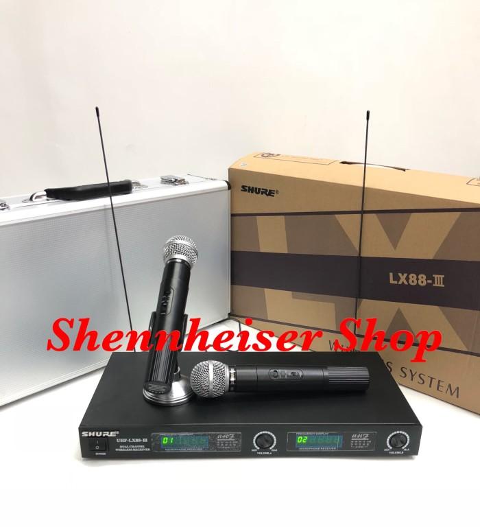 harga Microphone shure lx 88 iii wireless microphone Tokopedia.com