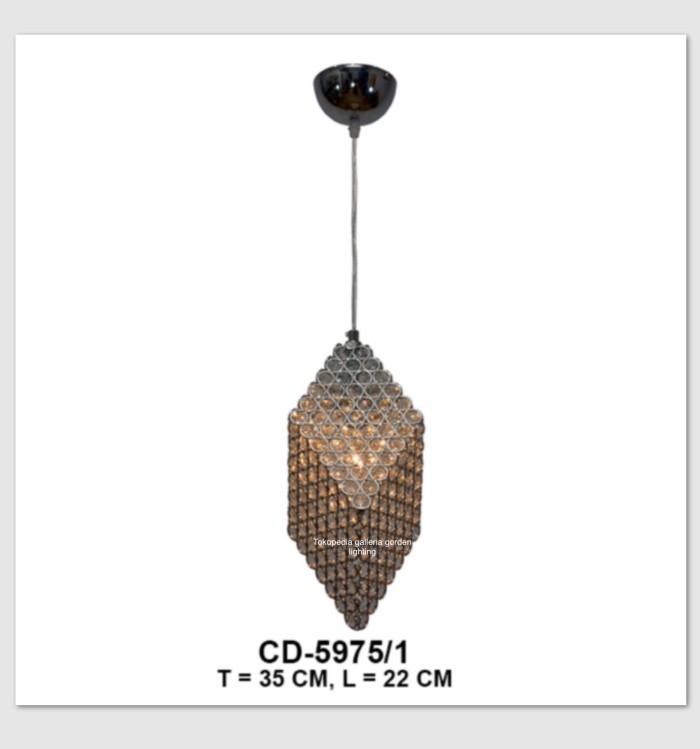 harga Lampu gantung kristal dekorasi ruang keluarga 5975/1 Tokopedia.com
