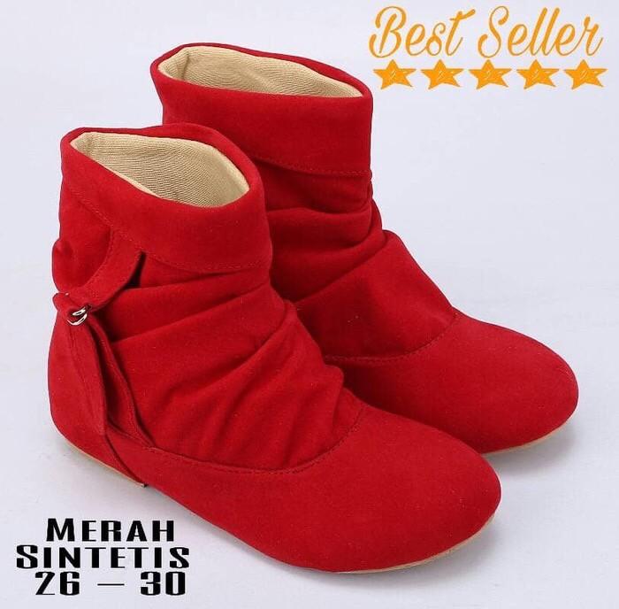 Foto Produk Boots anak bahan sintetis dari Mrs Ptr Shop