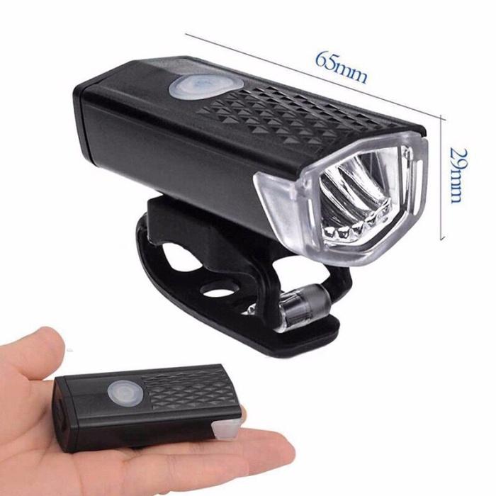 Foto Produk lampu depan sepeda rechargeable dari sewa bd ps 4 bandung
