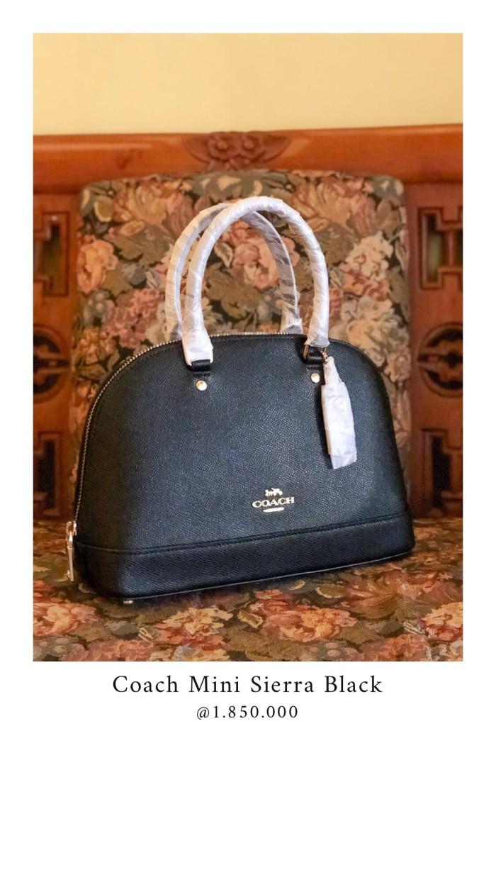harga Coach mini sierra black Tokopedia.com