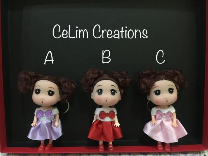 harga Bargk04 - gantungan kunci boneka barbie chibi korea imut dan lucu  Tokopedia.com a751955e1a
