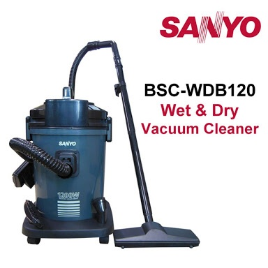 Sanyo BSC-WDB120 Wet & Dry Vacuum Cleaner (Bekas)