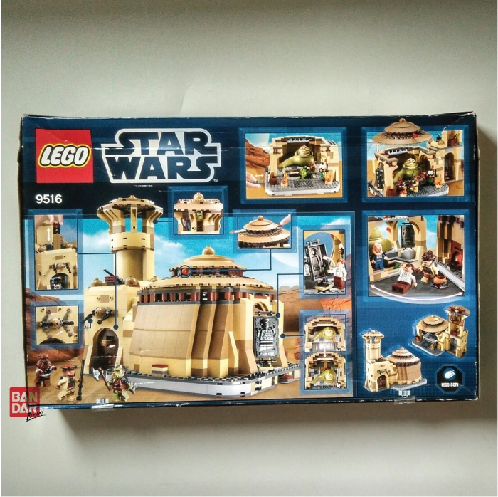 Jual Lego Star Wars Jabbas Palace Kota Bekasi Bandar Racun