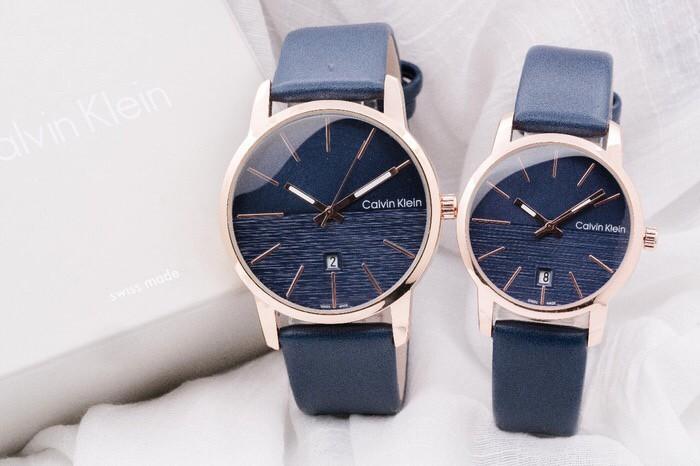 harga Jam tangan couple ck kulit Tokopedia.com