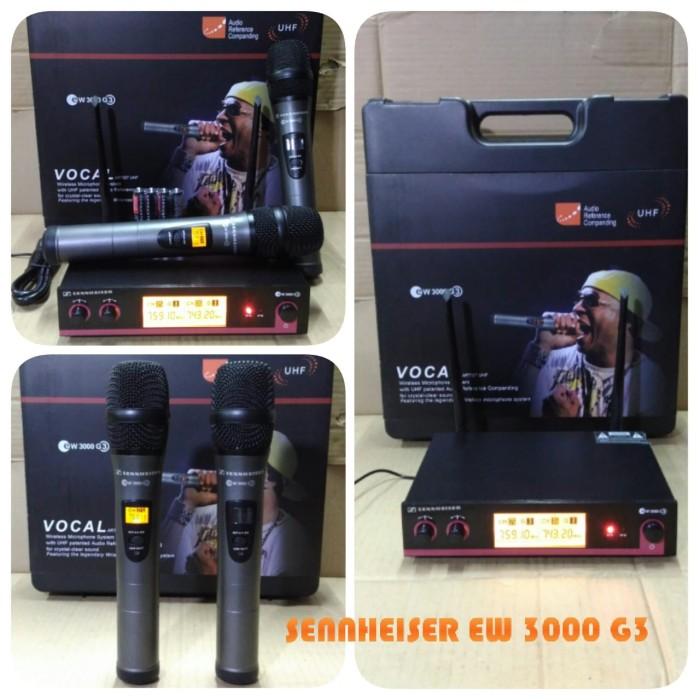 harga Mic wireless sennheiser ew 3000 g3 Tokopedia.com