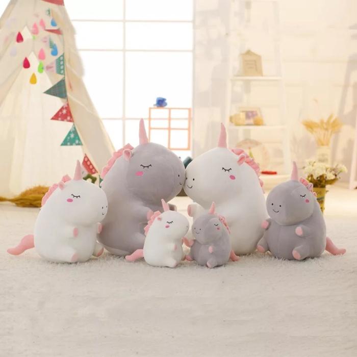 Foto Produk Boneka Unicorn Boneka Lucu Unicorn Lembut (38cm) dari CICAQGO