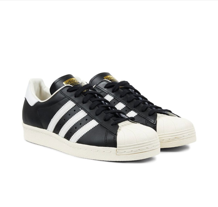 "check out 5f11c 7a76e Jual Adidas Superstar 80s Vintage Deluxe ""Black White"" - Jakarta Barat -  hoyweapstore 