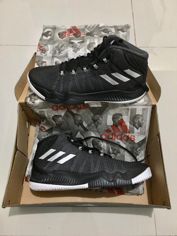 db6d813fd1b Jual Adidas Crazy Hustle sepatu basket ukuran 44 (US 10 UK 9