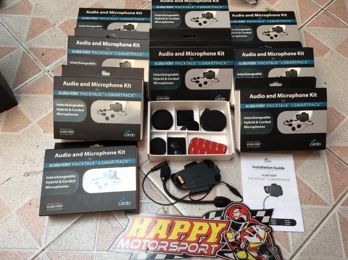 Foto Produk Scala Rider pack talk audio kit clamp kit series communicator utk Helm dari Happy MotorsportKadipiro
