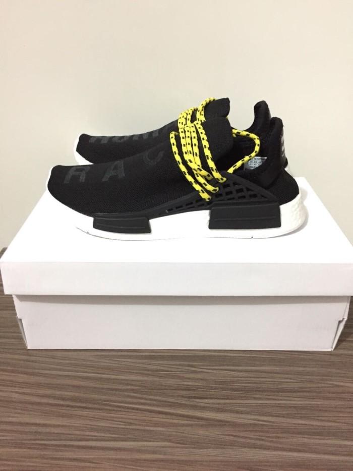 best service 09ff5 ed46e Jual Sepatu Sneakers Adidas NMD Human Race Pharell Williams - Black Yellow  - Kota Batam - Jualbarangbasket | Tokopedia
