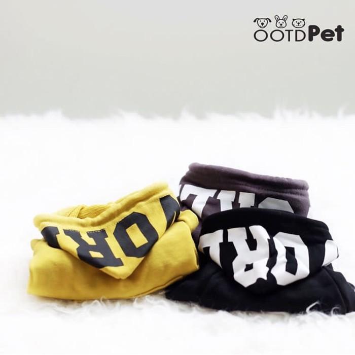 harga Zedd hoodie size 2xl || baju anjing kucing kelinci Tokopedia.com
