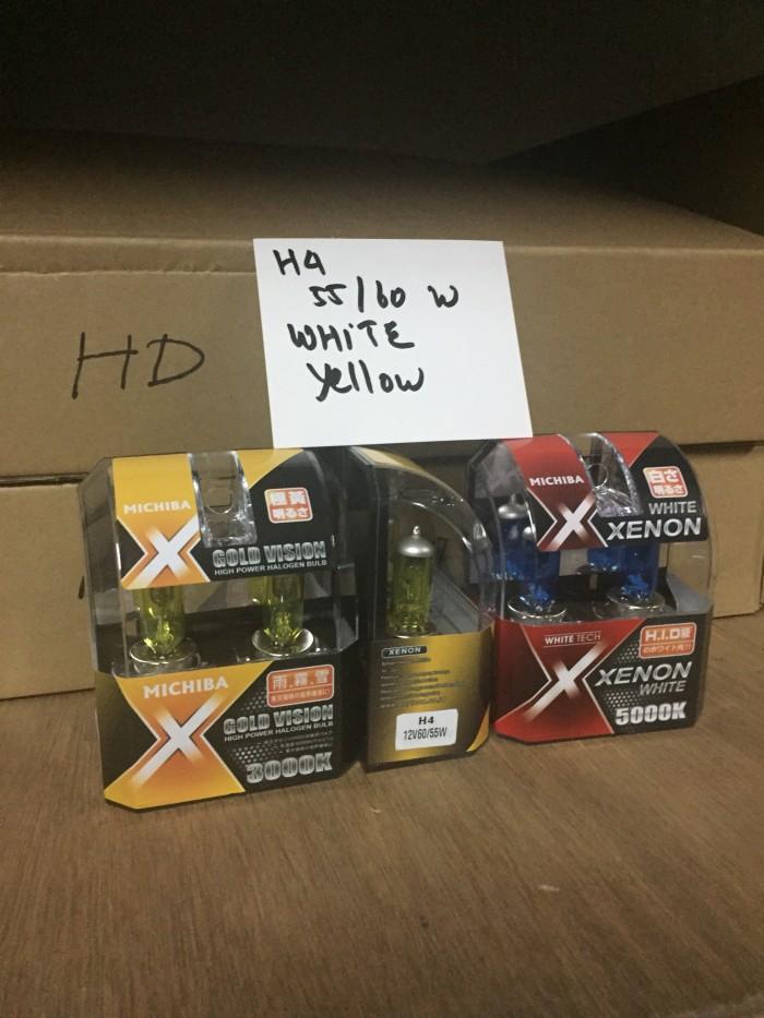 harga Michiba halogen h4 55/60watt Tokopedia.com