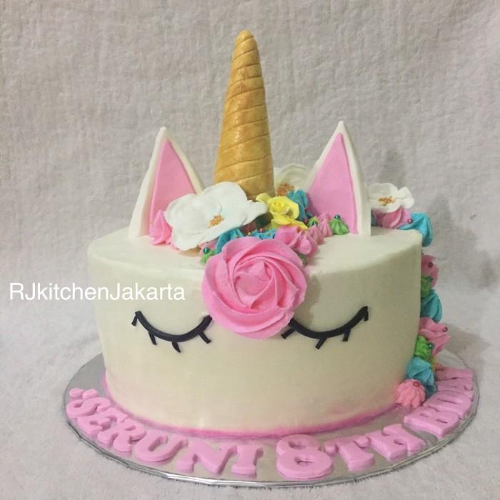 Jual Unicorn Cake Kuda Pony Cake Kue Ulang Tahun Kota Serang Rj Kitchen Jakarta Tokopedia