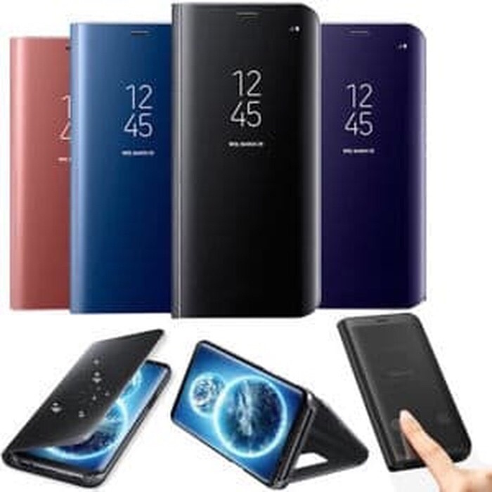 new arrival 54387 06e92 Jual Clear View Standing Cover Samsung Galaxy A6+ A6 Plus Case Sarung HP -  DKI Jakarta - Swana Lee group | Tokopedia