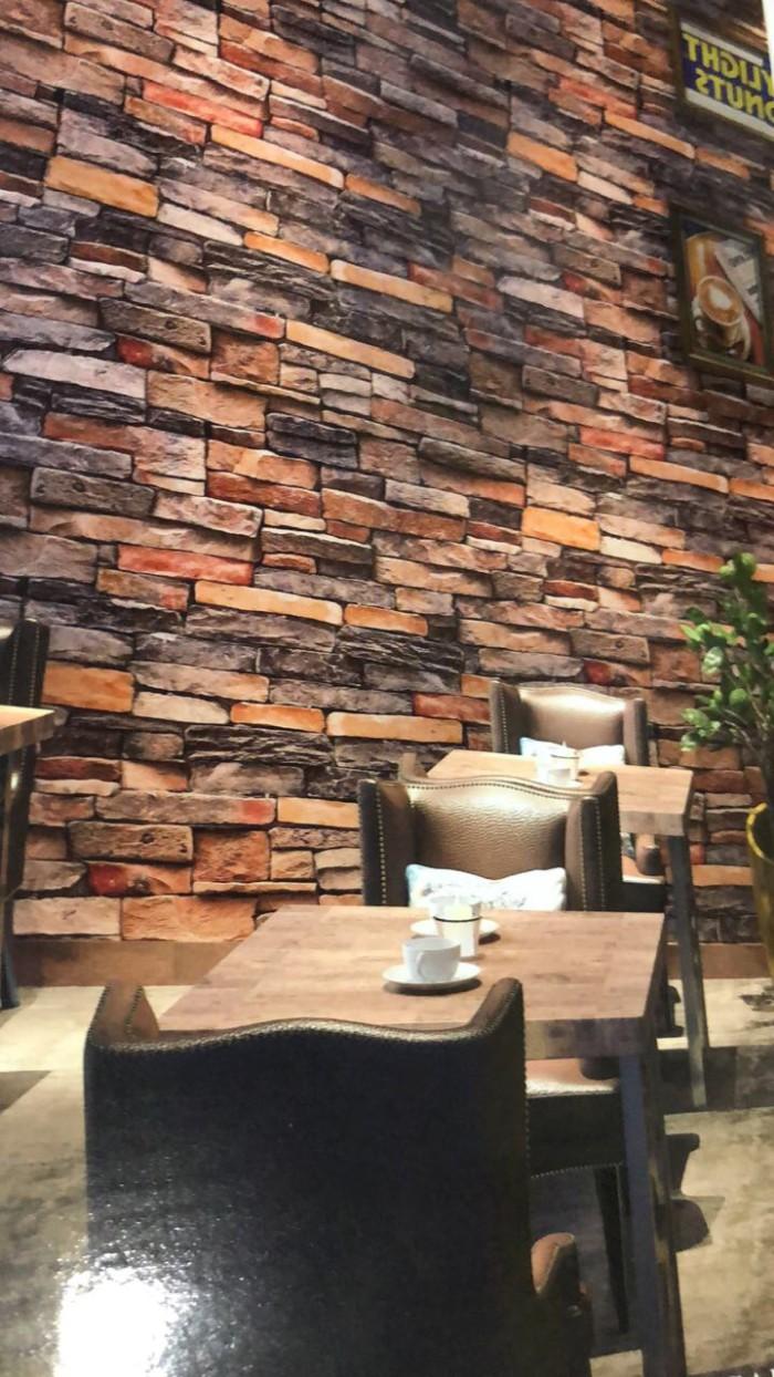 Jual Wallpaper Dinding Batu Alam 3D Kota Bekasi Wallpaper Diskon