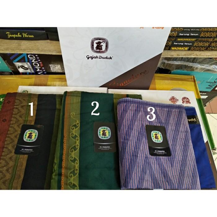 Foto Produk Sarung Gajah duduk Signature dari AzzamSyafiq Fashion