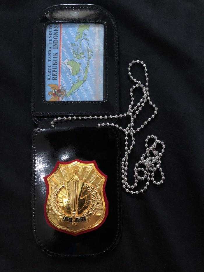 harga Original name tag id card kalung lencana kta security satpam premium Tokopedia.com