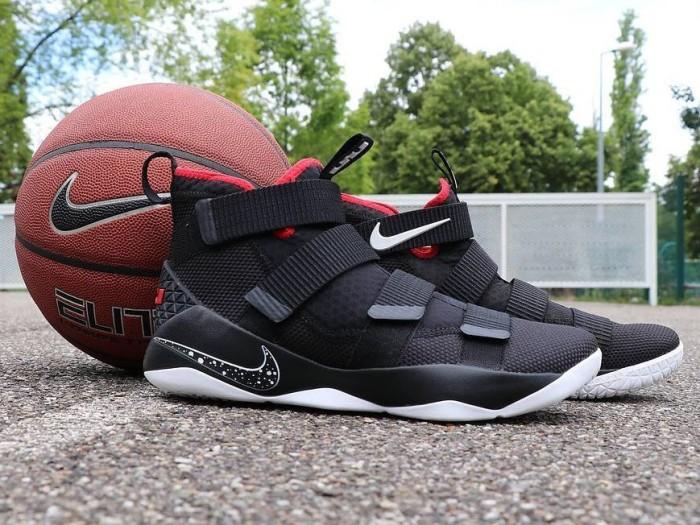 Jual Sepatu Basket - Nike Lebron Soldier 11 Bred - PRM - csneakers ... b8f237e7f9