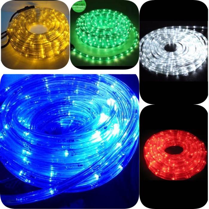 harga Led strip lampu selang bulat led / rope light paket 10m 10 meter Tokopedia.com
