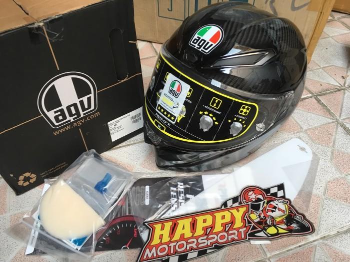 Jual Helm Full Face Agv Pista Gpr Mono Carbon Glossy Size Ml Original Italy Kab Bantul Happy Motorsportkadipiro Tokopedia