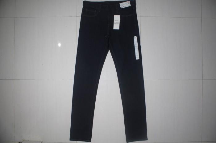 harga Uniqlo blue indigo low rise skinny fit stretch jeans Tokopedia.com
