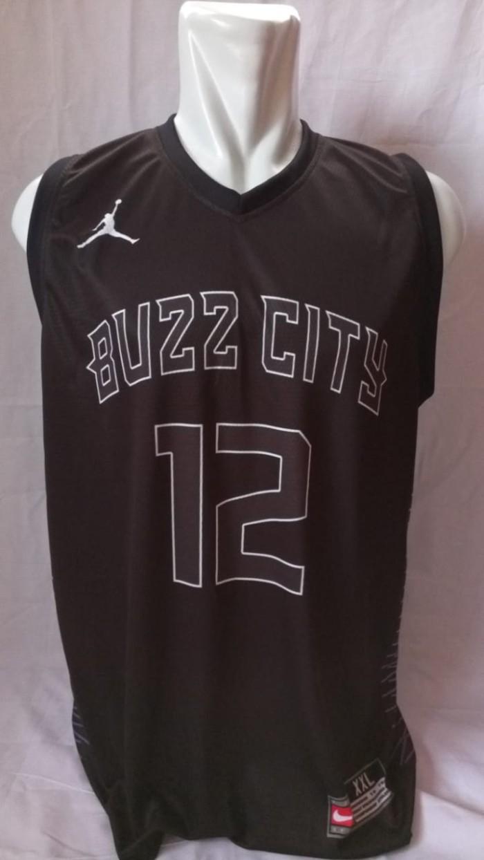 online store 0de99 31228 Jual Jersey Basket Printing Charlotte Hornets Buzz City Howard #12 Hitam -  Kota Batam - RR7 Shop | Tokopedia