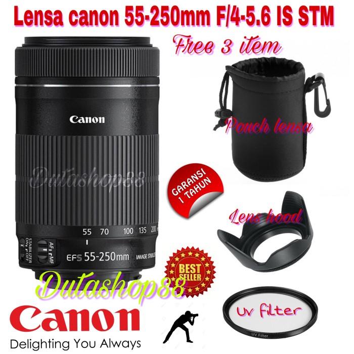harga Lensa canon 55-250mm ef-s f/4-5.6 is stm hot promo Tokopedia.com