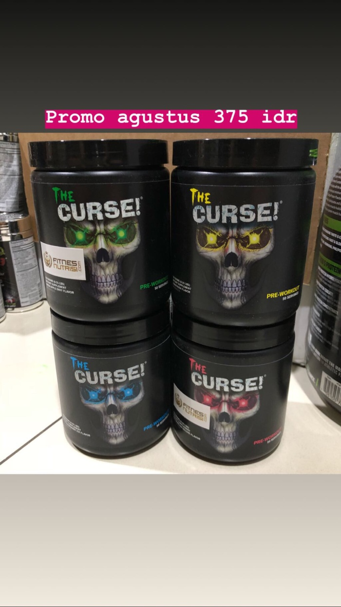 Jual Super Sale The Curse Pre Workout Cobralabs 50x Serv Suplemen Work Out Fitness