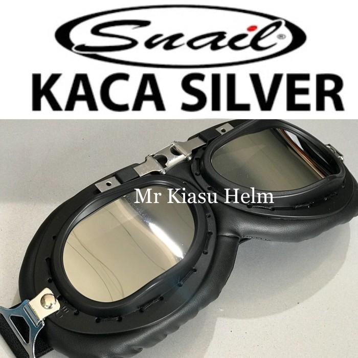 harga Goggle kaca mata helm cakil hbc pilot retro classic kacamata snail Tokopedia.com