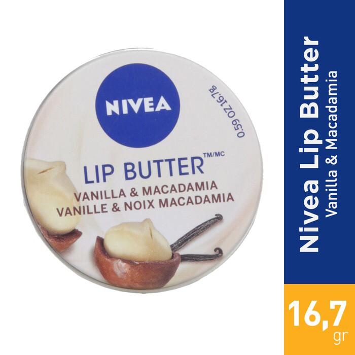 Nivea Lip Butter Lip Balm Vanilla & Macadamia