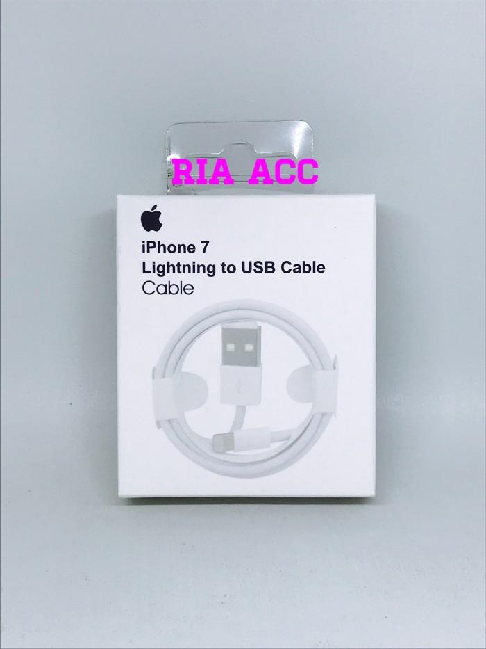 harga Kabel data usb iphone 6 7 8 ipad mini air original 99% Tokopedia.com