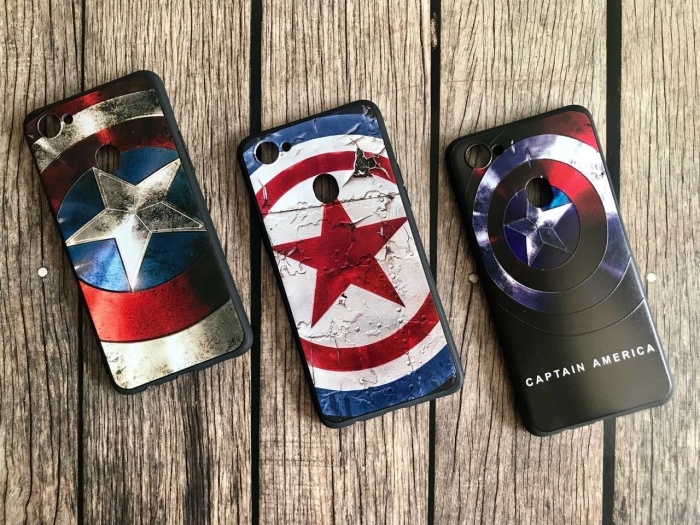 Softcase case man superheroes Xiaomi Redmi 5A/6/Mi A1 A2 S2 Note 4