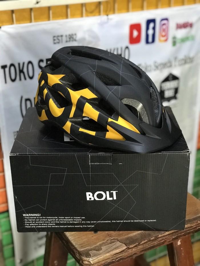 harga Helm sepeda gunung mtb polygon bolt Tokopedia.com