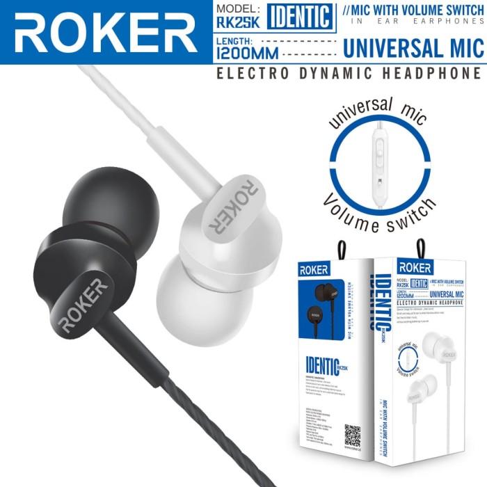 harga Handsfree roker identic headset microphone earphone universal 3.5mm Tokopedia.com