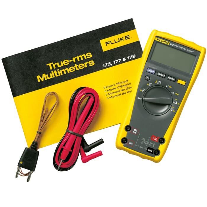 harga Fluke 179 true rms digital multimeter multitester avometer garansi Tokopedia.com