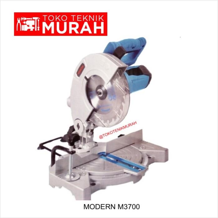 harga Modern m-3700 / m 3700 / m3700 mesin potong alumunium / kayu 190mm 7 Tokopedia.com