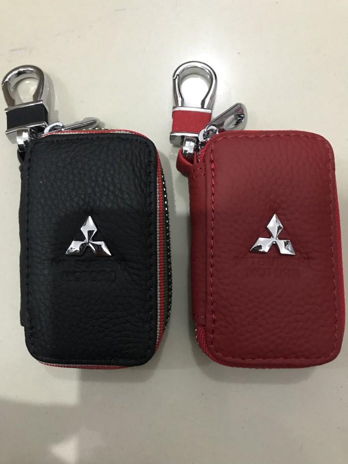 Foto Produk Dompet STNK Kulit Mobil Mitsubishi / Dompet Kunci / Gantungan Kunci Mo dari indotech-jkt