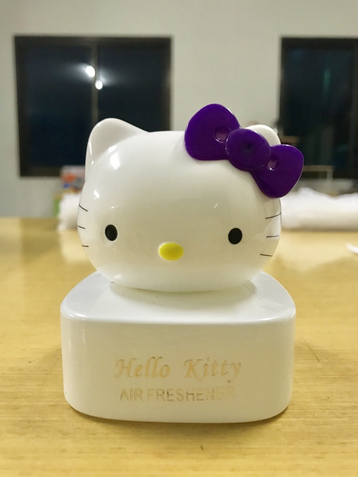 Jual Parfum Mobil Hello Kitty Kepala Caraccessory Id Tokopedia