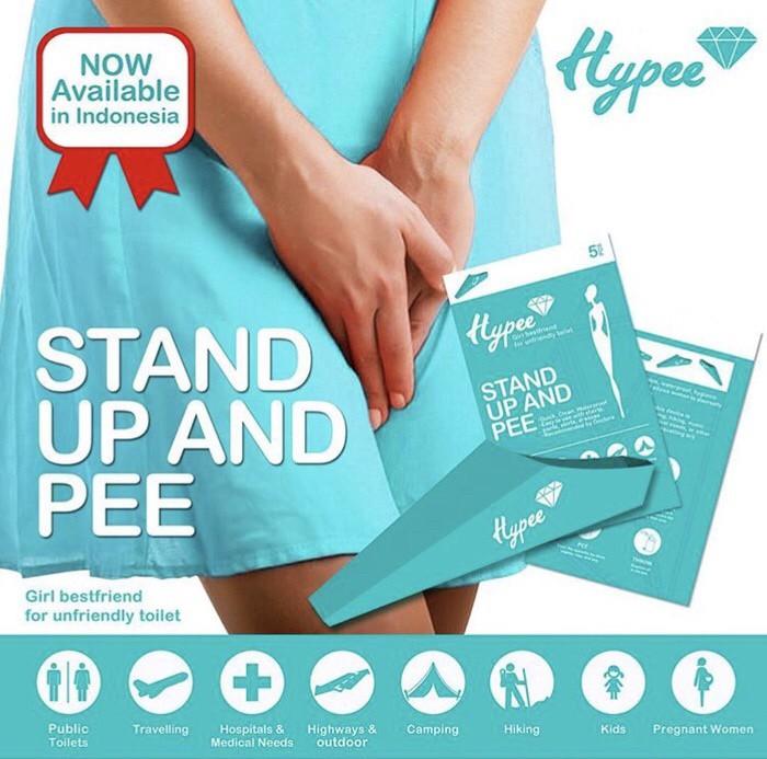 Foto Produk HYPEE STAND UP PEE Corong Pipis Wanita Sekali Pakai PURINOIR dari Raja Popoks