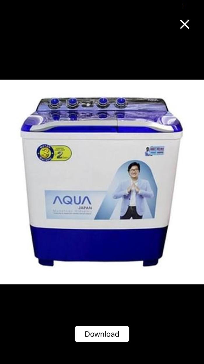 Mesin cuci dua tabung aqua sanyo 880XT