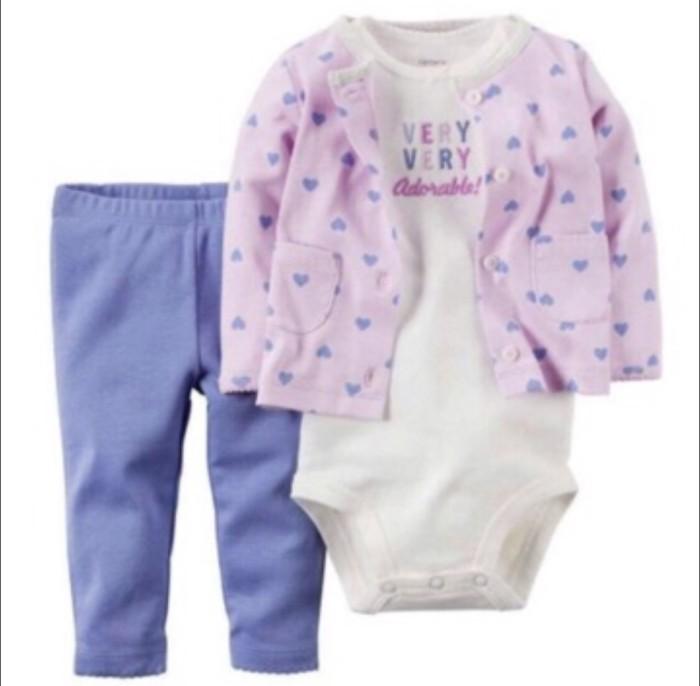 bf71a8bbd Jual Murah Jaket Carter 3In1 Anak Bayi Perempuan   Setelan Jaket ...