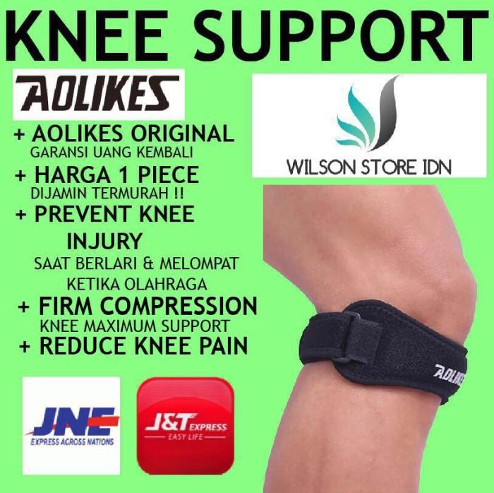 harga Aolikes knee patella support sleeve sleeves wrap wraps pelindung lutut Tokopedia.com
