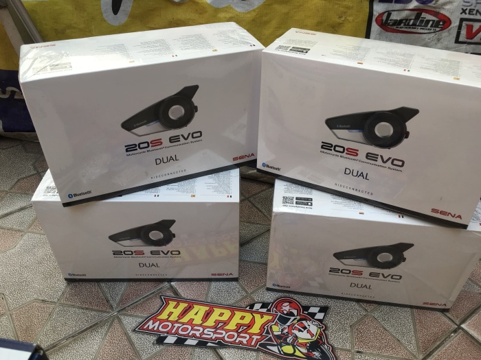 Foto Produk Paket single Pack Sena 20s EVO bluetooth intercom ori Korea garansi2th dari Happy MotorsportKadipiro