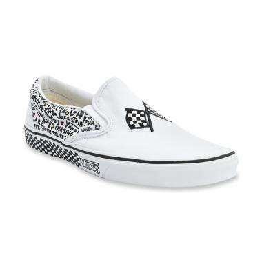 Jual Vans Slip On DIY Black True White